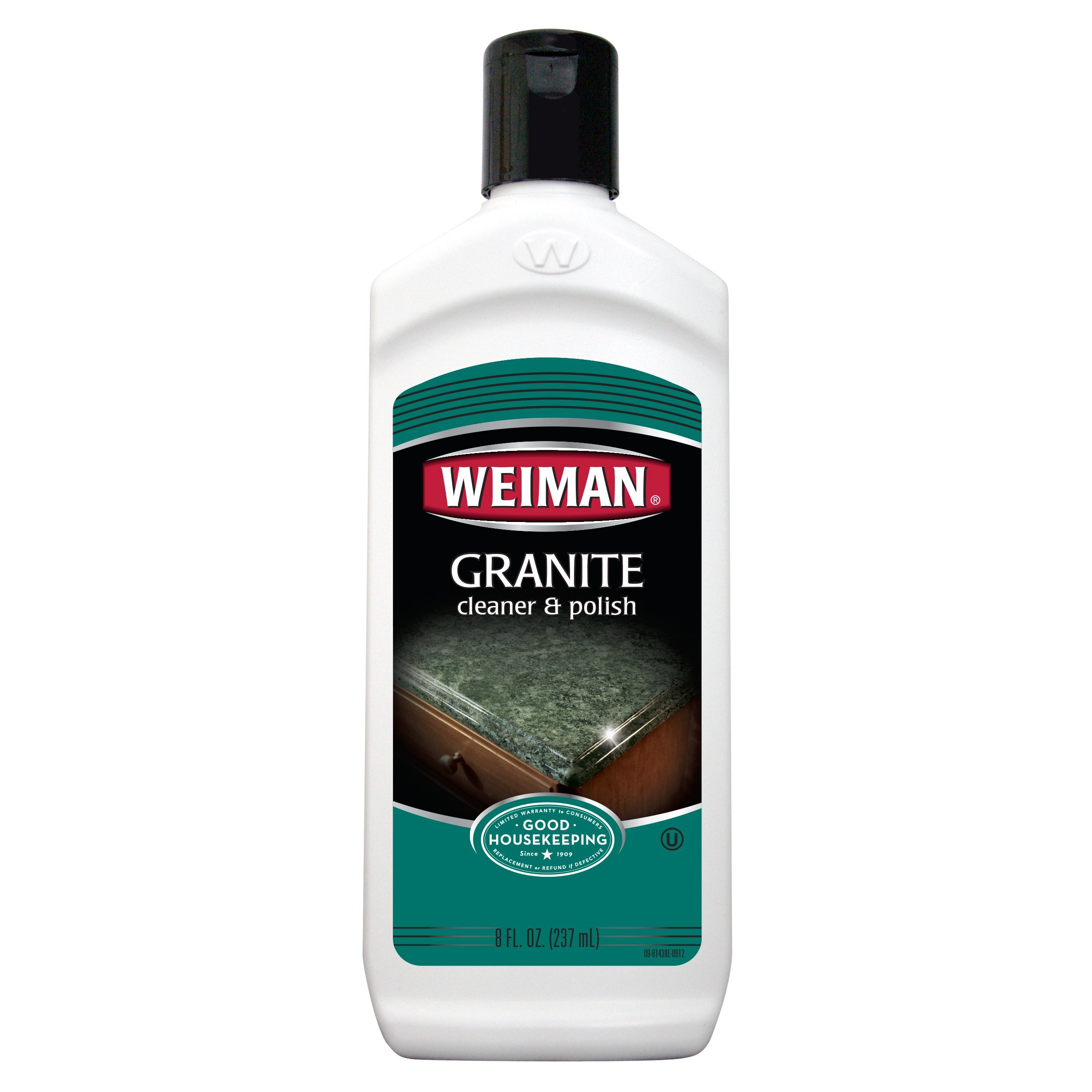 Weiman Granite Cleaner and Polish - 8 Ounce 6 Pack - For Granite Marble Soapstone Quartz Quartzite Slate Limestone Corian Laminate Tile Countertop and More by Weiman (Image #1)