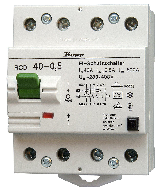 754045089 Kopp Interruttore Differenziale