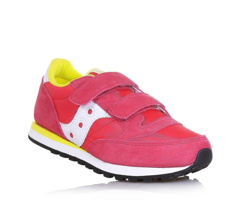 SAUCONY ST57922 JAZZ HL rosa bianco scarpe bambina strappo  Amazon ... cb6b8f10359