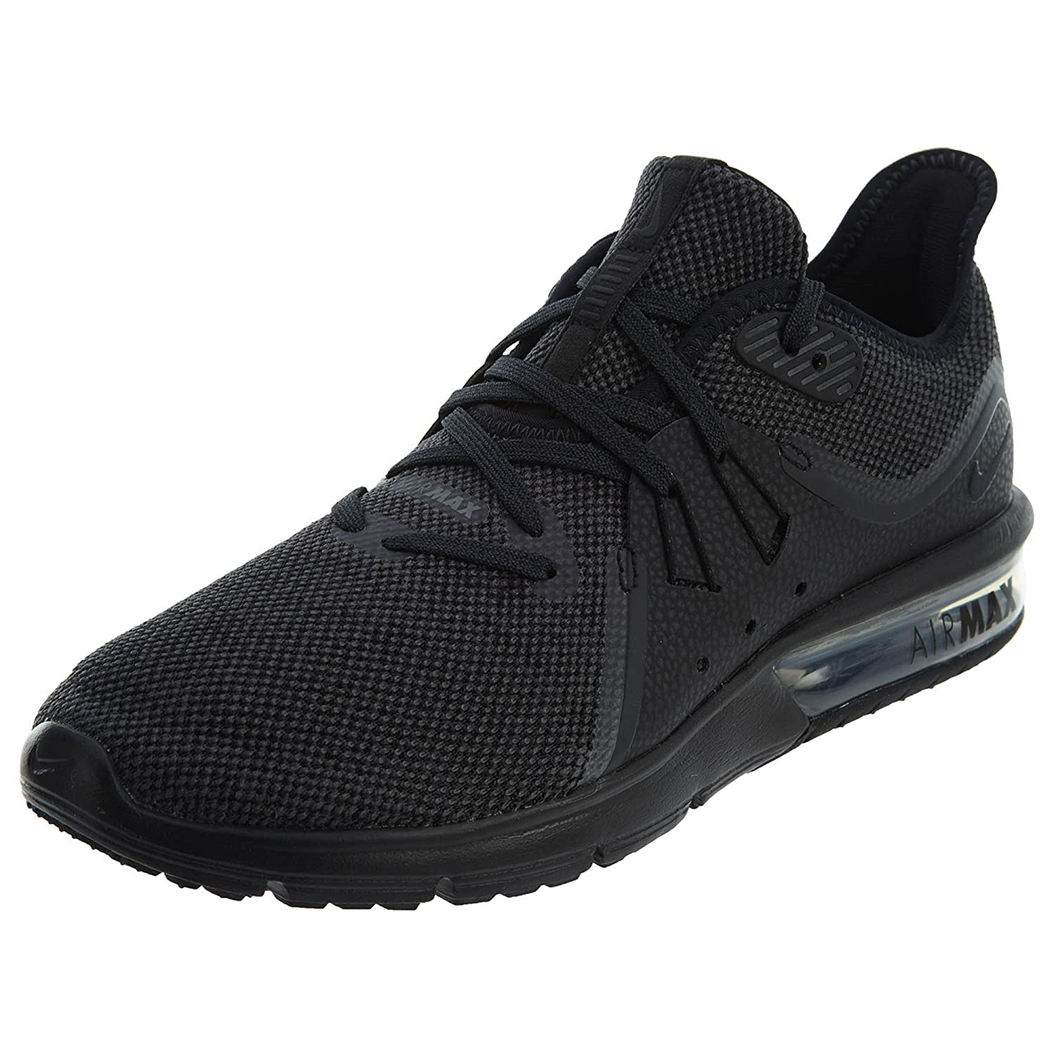 NIKE Women's Air Max Sequent 3 Running Shoe B06XV25MZY 7.5 B(M) US|Black/Anthracite