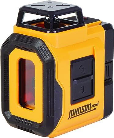 Johnson Level Tool 40 6606 Self Leveling 360 Degree Line Laser Level With Plumb Layout Line Amazon Com