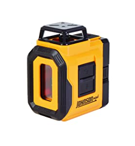 Johnson Level & Tool 40-6606 Self-Leveling 360 Degree Line Laser Level with Plumb Layout Line