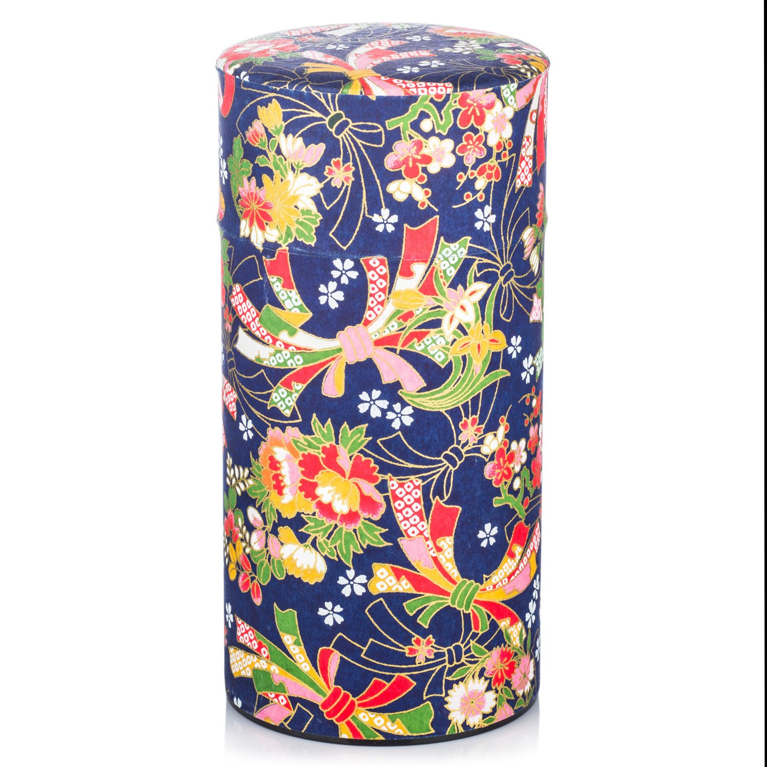 Large Dark Blue Japanese Tea Caddy The Japanese Shop
