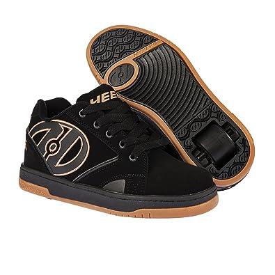 red   40 Chaussures Heelys 2.0 Propel noires garçon  White pU664pVER4
