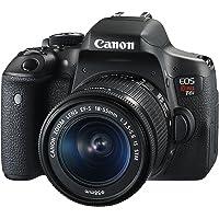 Câmera Digital EOS Rebel T6i EF-S 18-55mm IS STM, Canon, Preto