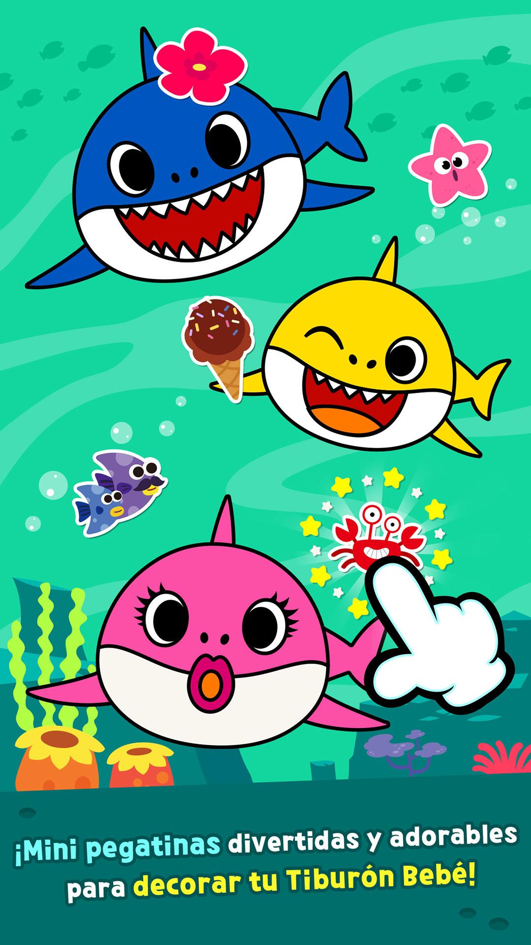 Pinkfong Tiburón Bebé para Colorear: Amazon.es: Appstore