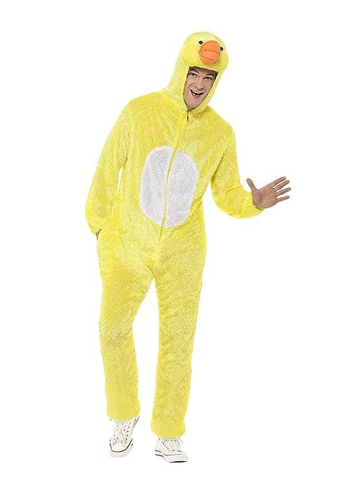 info for 0f74f fa9b6 SMIFFYS Costume da papera, giallo include tuta con cappuccio