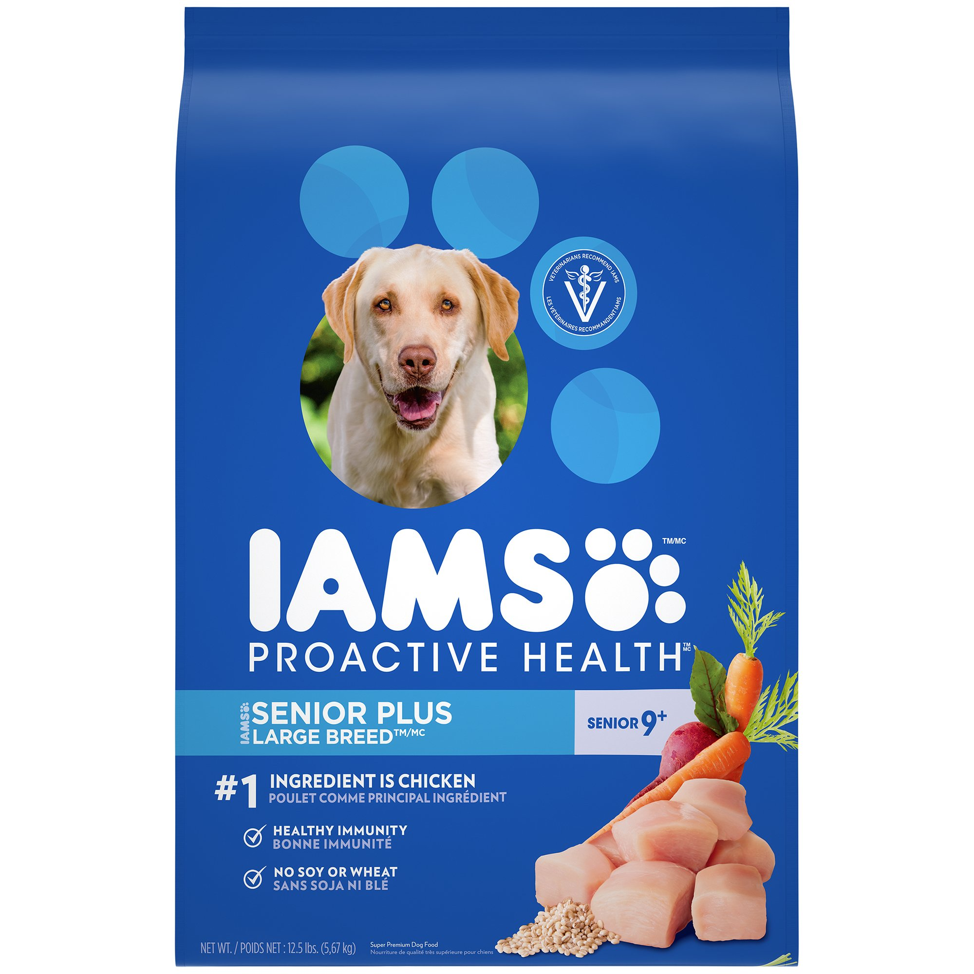 IAMS PROACTIVE HEALTH Senior and Mature Adult Dry Dog Food Standard Packaging