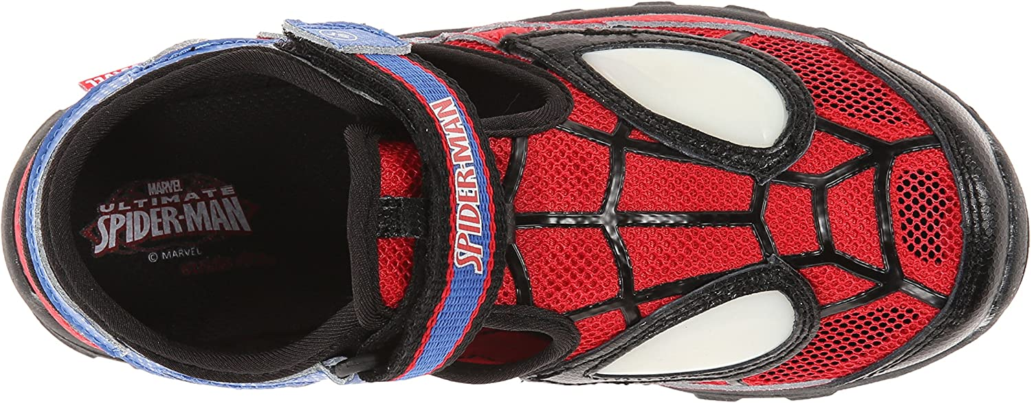 Toddler//Little Kid Stride Rite Spider-Man Light-Up Sandal
