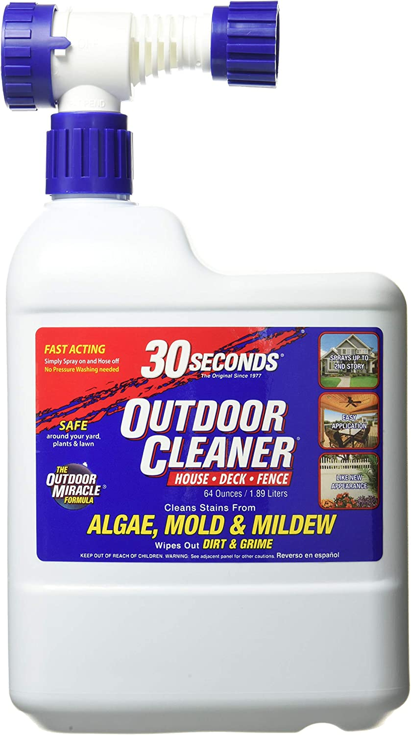 Best cleaner with a hose: 30 SECONDS Outdoor Deck Cleaner Hose