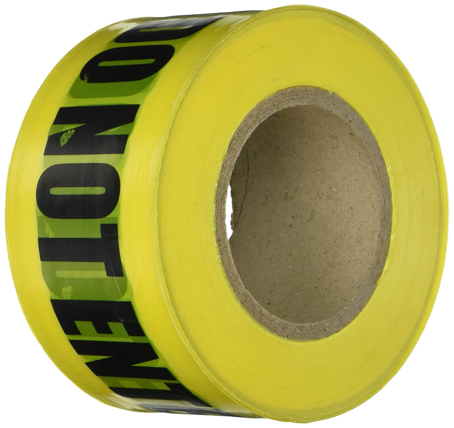 000 Size 3 x 1 2.0 mil Thickness Ideal 42-012 BarrierCaution Do Not Enter Tapes Yellow 3 x 1 000/' Size Fotronic Corporation