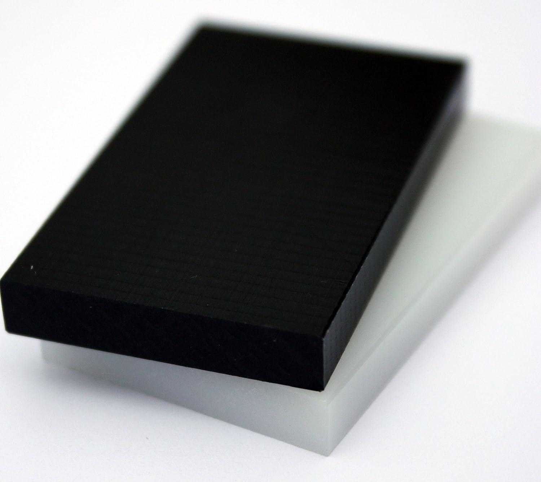 Lastre PE natura bianco 1000 x 495 x 15 mm piastra PE-HD Pannello compatto alt-intech PE