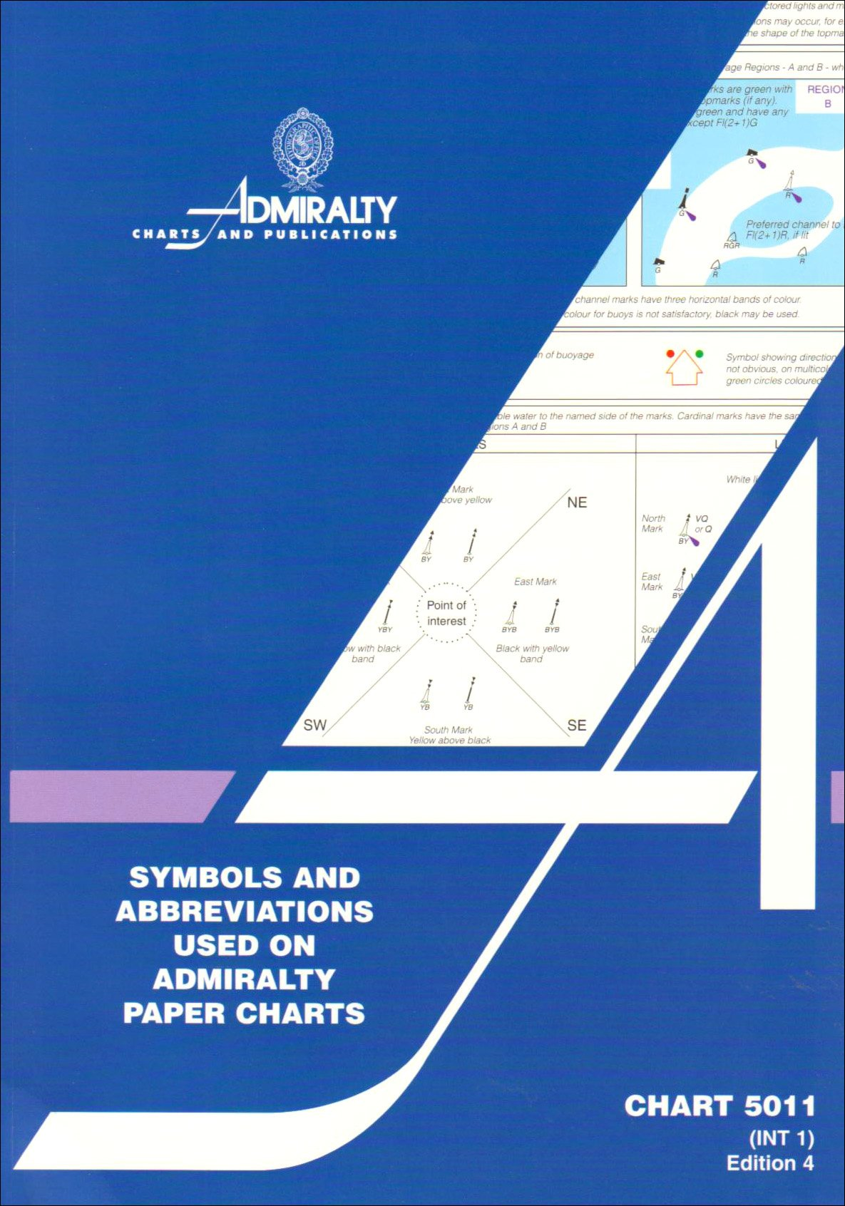 Symbols And Abbreviations Used On Admiralty Charts No 5011 Amazon
