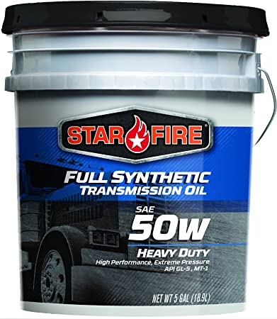Starfire Premium Lubricants SF F/S 50W to 5 Gallon Full Synthetic Transmission Oil, 5 gal Pail