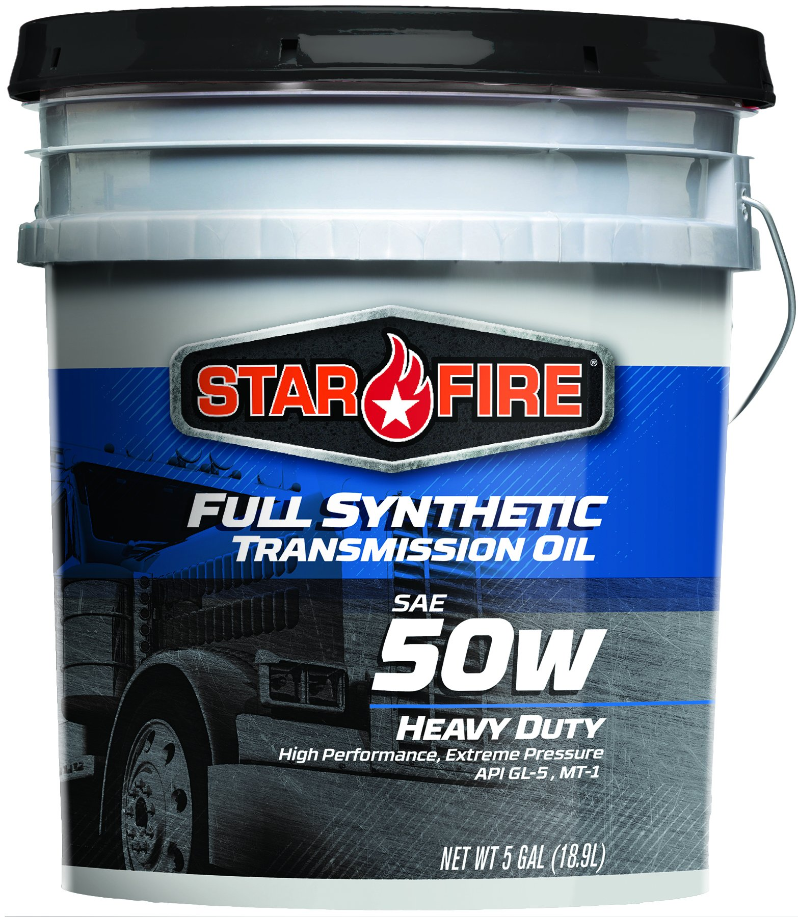 Starfire Premium Lubricants SF F/S 50W to 5 Gallon Full Synthetic Transmission Oil, 5 gal Pail by Star Fire Premium Lubricants