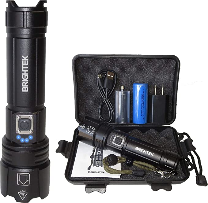 Details about  /XHP70 2 LED Flashlight 8000 Lumens Powerful Light High Quality Water Resistant