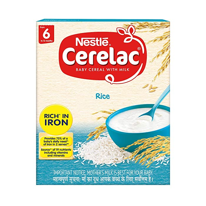 The Best Baby Food Nestle Rice Cerelac