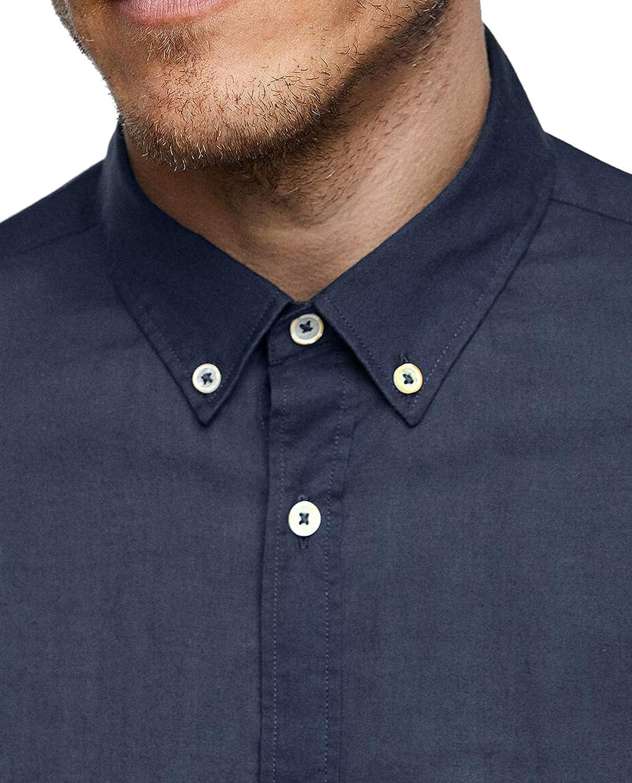 Zara 6048/400/401 - Camisa para Hombre Azul Azul XXL: Amazon.es ...