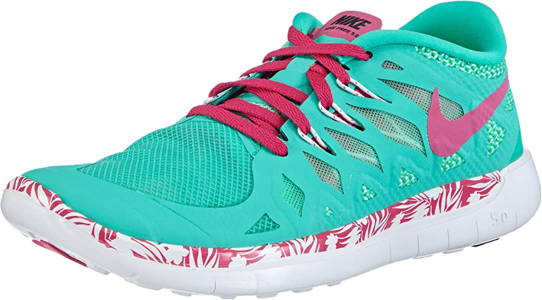 brand new 44a95 8848c Nike Free 5.0 Print (Gs)(infant) (4T, 300-MENTA