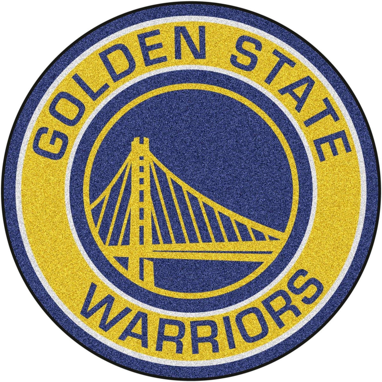 FANMATS 18835 NBA Golden State Warriors Roundel Mat