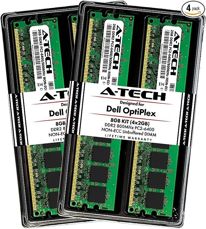 4GB 2x2GB Dell OptiPlex 755 Energy Smart SFF Memory