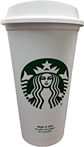 Starbucks Travel Coffee Cup Reusable Recyclable Spill-proof BPA Free Dishwasher Safe - Grande 16 Oz (Pack of 6)