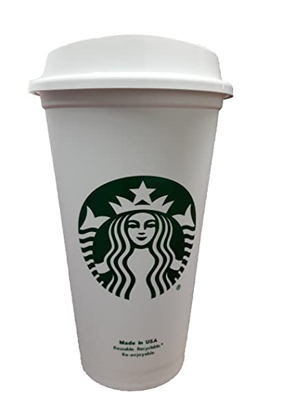 82aaf5d959f Starbucks Travel Coffee Cup Reusable Recyclable Spill-proof BPA Free  Dishwasher Safe - Grande 16