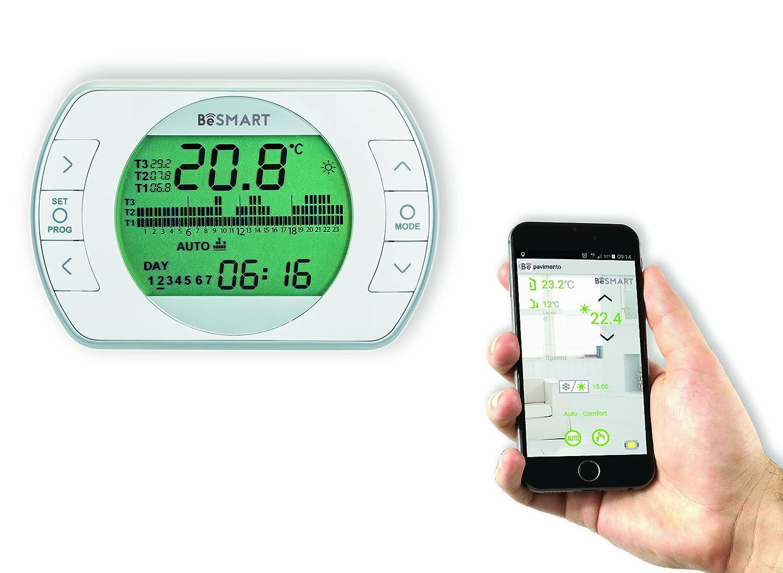 besmart 20111887 Thermostat WiFi für Smartphone: Amazon.de: Baumarkt