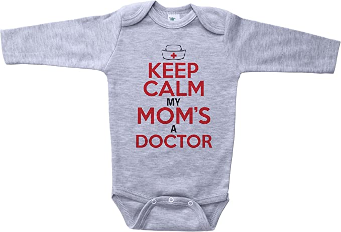 Shopagift Baby When I Grow up I Want to be a Doctor Sleepsuit Romper