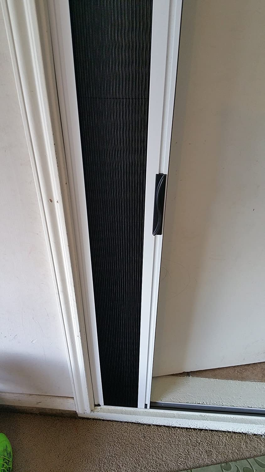 Greenweb retractable screen door 40 inch by 84 inch kit amazon rubansaba