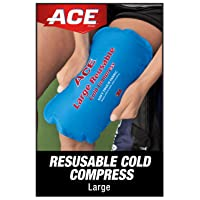 ACE Reusable Cold Compress, Works for knees, shoulder, back, neck and more, Soft-touch...