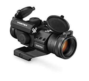 10. Vortex Optics StrikeFire 2 Red/Green Dot Sight with Cantilever Mount (SF-RG-501)
