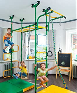 Amazon.com: Kids Home Gym Indoor Playground Set for Childrens ...