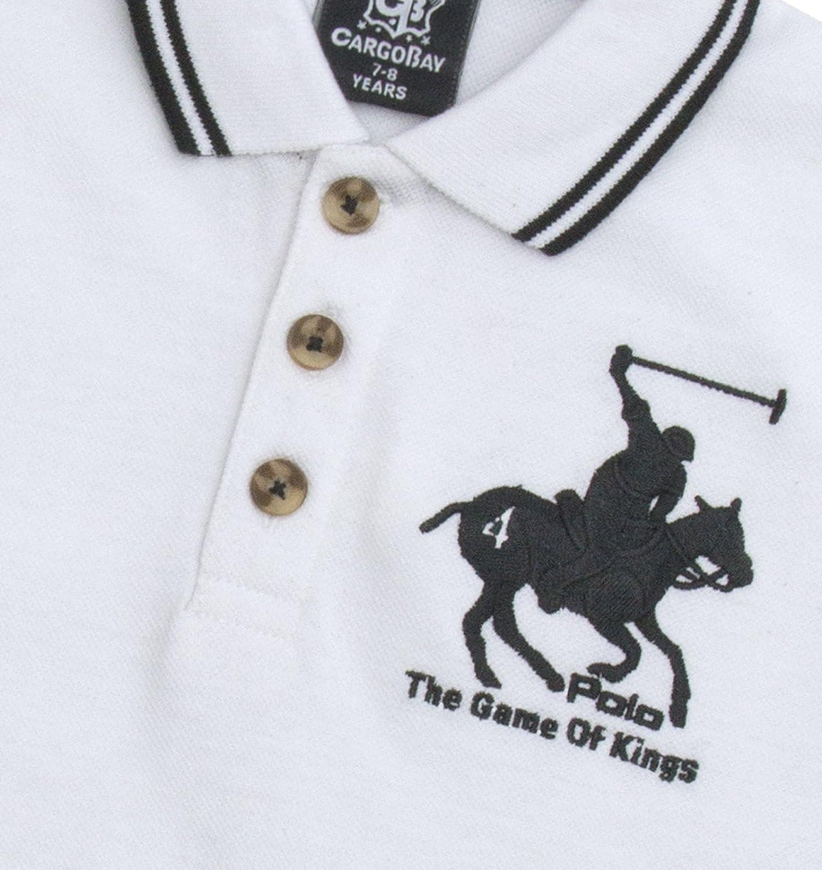 Strong Souls Boys Polo Shirt