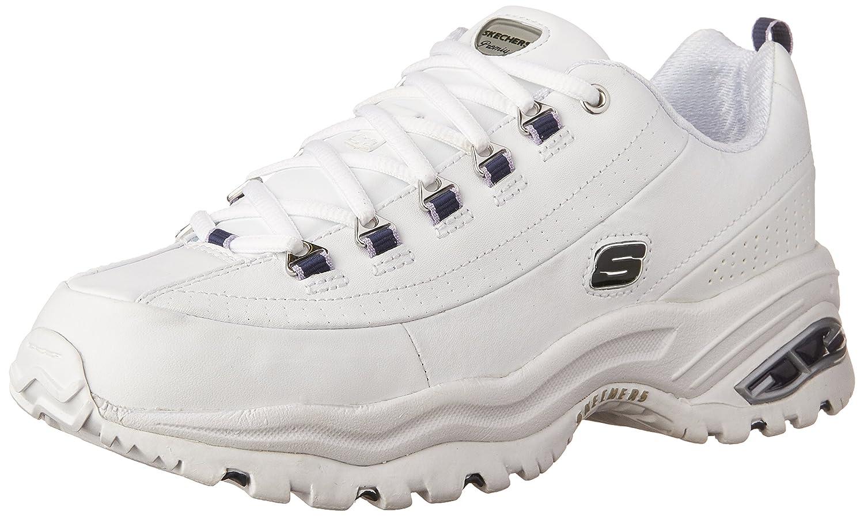 Skechers Sport Women's Premium Sneaker B000VWTTWW 6 C/D US Women|White/Navy