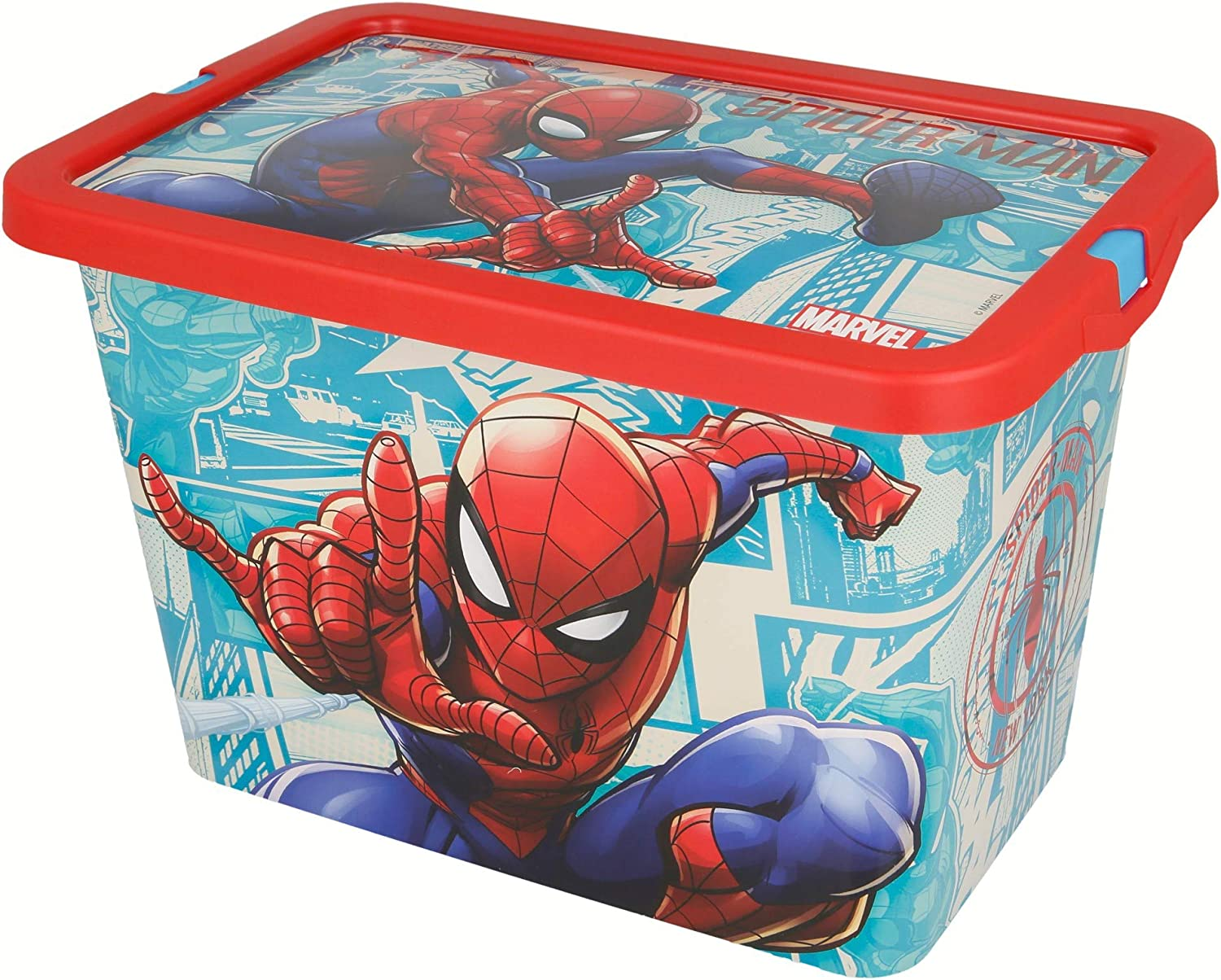 Stor Caja Click 7 L | Spiderman Comic Book