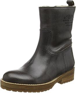 HIP Mädchen H1279 Cowboy Stiefel, Mehrfarbig (91CO/Ac), 33 EU