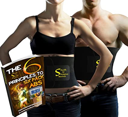 9f11f7da84 Neoprene Waist Trimmer Belt Sweat Band for Slimmer Water Weight Loss Mobile  Sauna Tummy Tuck Belts Strengthen Tummy Abs During Workout Exercising -  Bonus ...