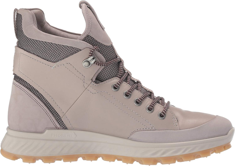 ECCO Womens Exostrike W High Rise Hiking Shoes