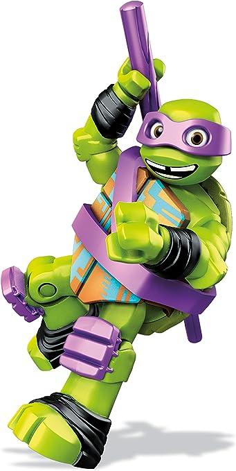 Mega Bloks Teenage Mutant Ninja Turtles Donnie Figure Jump Training