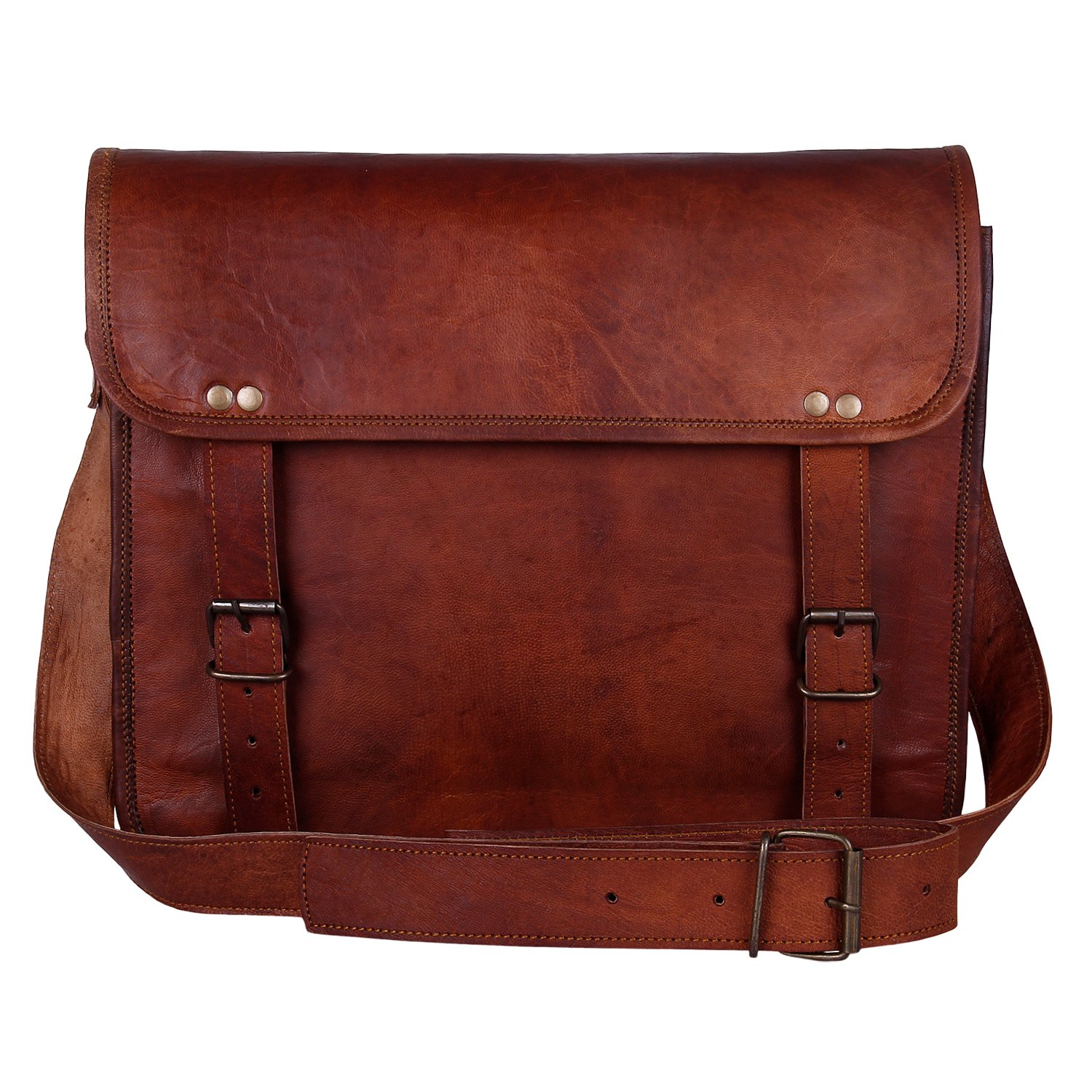 Rustic town 13 cross handle satchel laptop bag