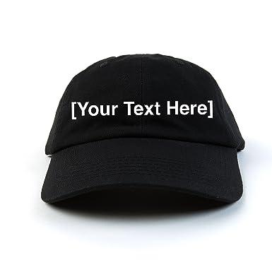 custom baseball cap custom hats for men and women adjustable