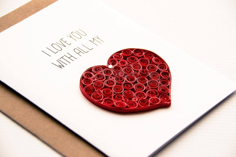Amazon I Love You Card Anniversary Card For Husband