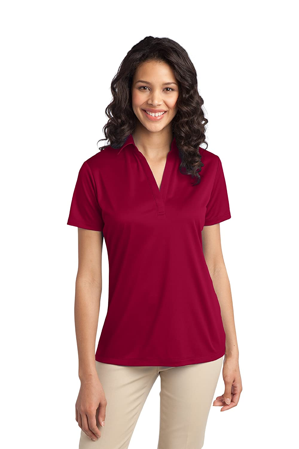 Ladies Silk Touch Performance Polo at Amazon Women's Clothing ...