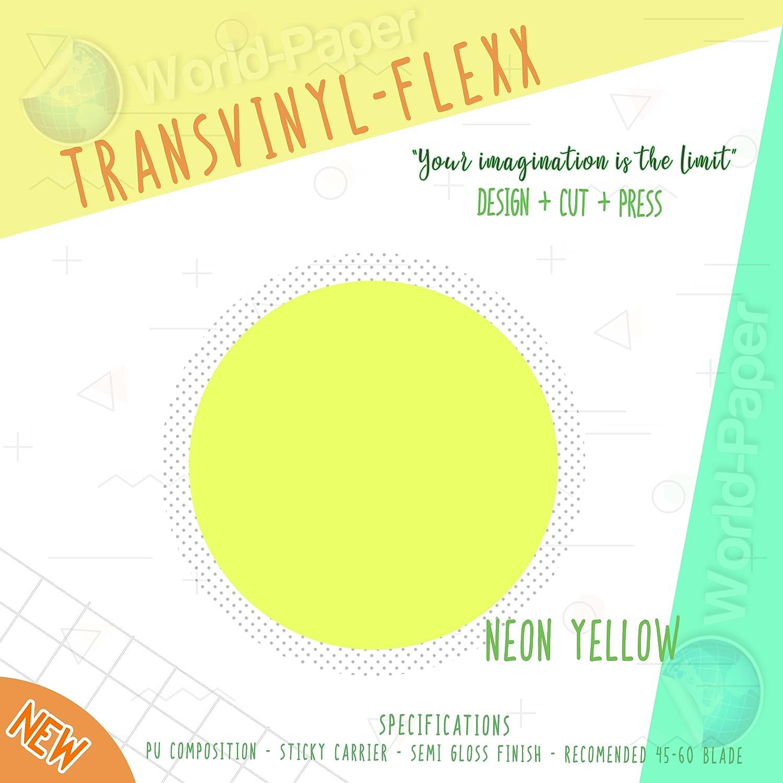 Heat Transfer Vinyl Press HTV 10 x 5 Yards. (Salmon) WORLD-PAPER