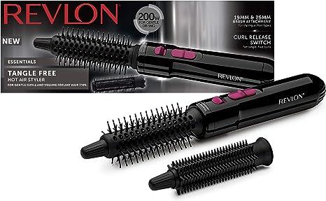 Hair brush dryer Demo//Review video in description 3 attachments