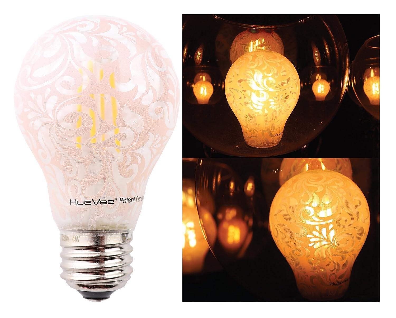 Old Style Filament Decorative Light Bulbs By Huevee A19 Led 60