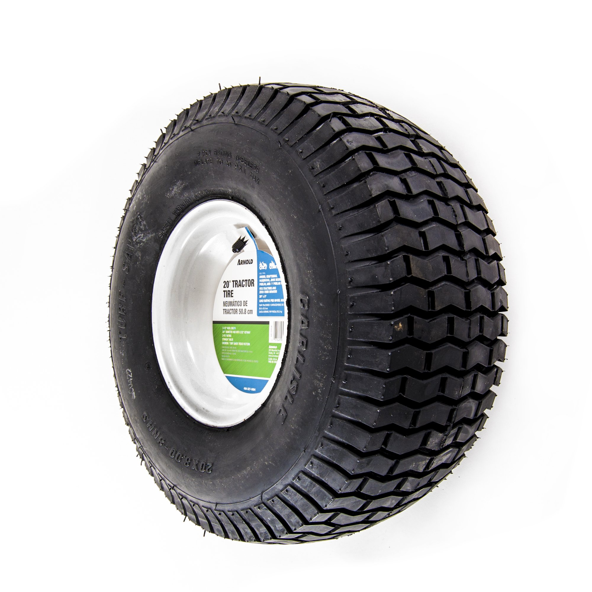 Arnold 20-Inch x 8-Inch Replacement Tractor Tire by Arnold (Image #1)