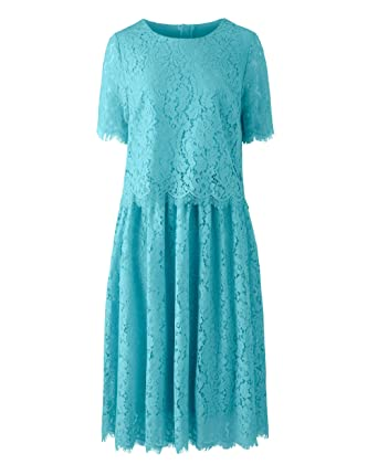 Simply Be Womens Lace Layer Prom Dress Aqua, 12