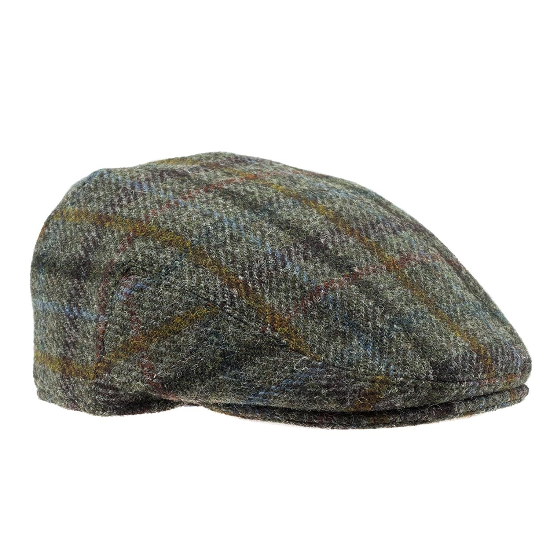 Failsworth Hats Harris Tweed Flat Cap P-3537